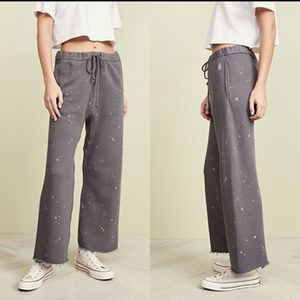 Free People Sideline Pant Printed Sweatpants paint